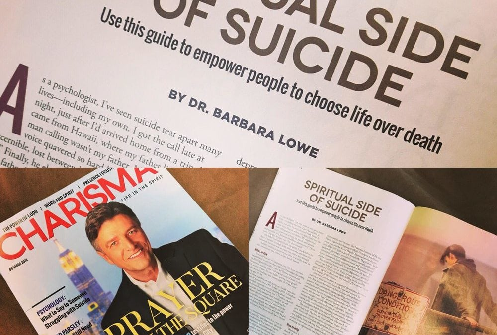 Article: Spiritual Side of Suicide
